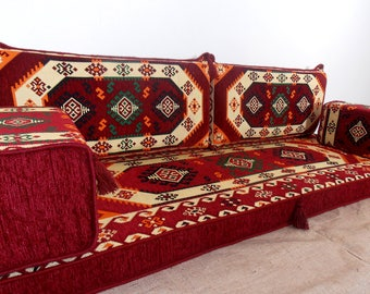 Arabic Style Majlis Floor Sofa Set,floor Couch,oriental Floor Seating,  Floor Seating