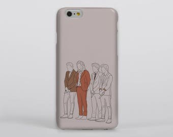 Gotta Whole Lot of History Phone Case iPhone Samsung One Direction Harry Styles Louis Tomlinson Liam Payne Niall Horan Portrait Drawing