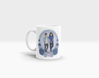 Gift I Love You It's All I Do 11oz Ceramic Mug One Direction Harry Styles Louis Tomlinson Larry Stylinson Music Home Kitchen Crockery Cup