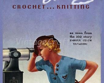 Fifth Avenue Crochet & Knit Fashions E-Pattern