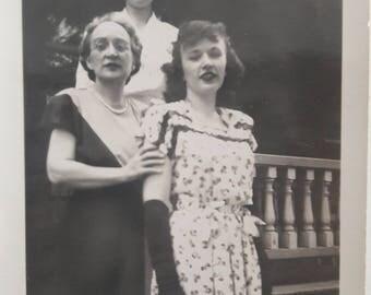 40s young nurse elbow gloves fashion ladies