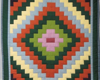 """Paving Stone Wall Hanging Quilt 32"""" x 29.5"""""""
