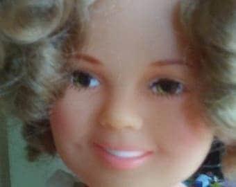1972 Ideal Shirley Temple Doll, Shirley Temple Doll, Ideal Doll, 1972 Shirley Temple Doll