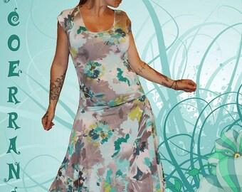 Asymmetrical dress 'A romantic summer'