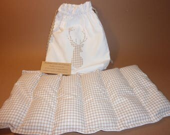 Heating pad antique cotton and gingham