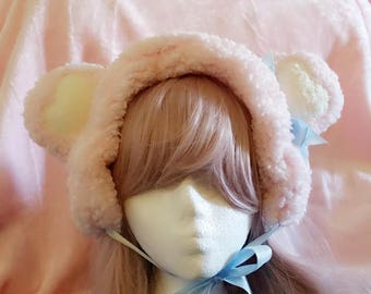 Loving bear winter headdress