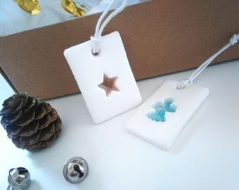 Star Christmas stained glass hanging Christmas Decoration, Christmas tree Decoration, ornament