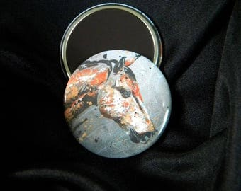A Bay horse magnet