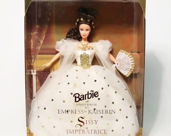 Bartbie Empress Kaiserin Sissy Imperatrice Doll, 1996 Limited Edition MIB NRFB