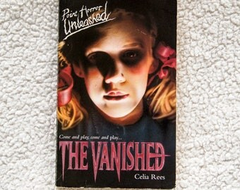 Vintage 90s Point Horror Unleashed The Vanished by Celia Rees Paperback Book