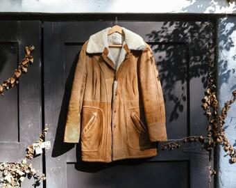 Schott Bros Suede Rancher Coat size 36 Vintage 1950s 1960s