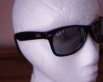 Authentic Ray-Ban Wayfarers vintage sunglasses made in Italy,  in 60s.