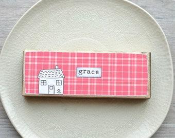 Mini Sign. Grace.