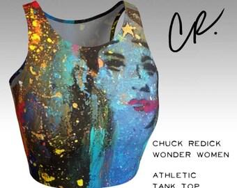 CR Wonder Women Athletic Crop Top