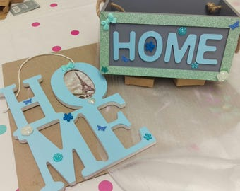 "2 piece ""Home"" gift set"