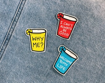 Party Cup Stickers