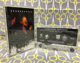 Superunknown by Soundgarden Cassette Tape grunge rock alternative