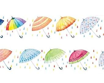 Umbrella washi tape