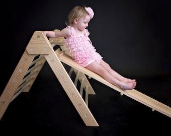 Pikler Slide - Fully Assembled - Reversible - TRIANGLE Sold Separately