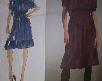 Vogue DKNY Dress Pattern Sizes 14-20  #V2978