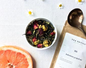 White Tea / White Fruity Tea / White Grapefruit Tea / Citrus White Tea / White Citrus Tea / NO. 095 Bohemian Grapefruit