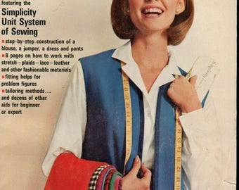 SUMMER SALE 1965 Simplicity Sewing Book