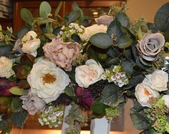 Garden Fresh Arch, bohemian arch, rose arch, wedding arch, succulent arch