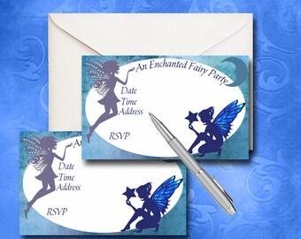 Fairy Collection Celestial Fairy Invitation Instant Download Printable Invitation