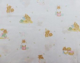 Beatrix Potter fabric, Hunca Munca fabric