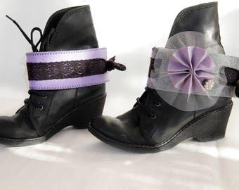 BOHO BOOT CUFFS /Lila boot cuffs / boot accesories
