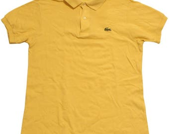 70's vintage Lacoste polo shirts made in France