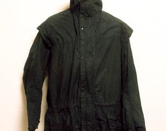 80's vintage Barbour Durham wax jacket made in England
