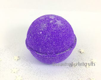 Sleepy Time Bath Bombs Lavender Chamomile Scent Natural Handmade Bath Fizzy