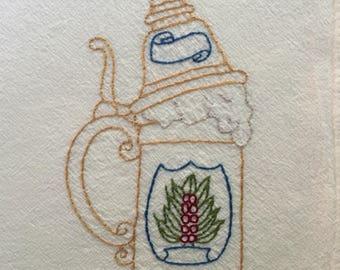 Vintage Stein Mug Bavaria Oktoberfest Beer Mug Porcelain Made