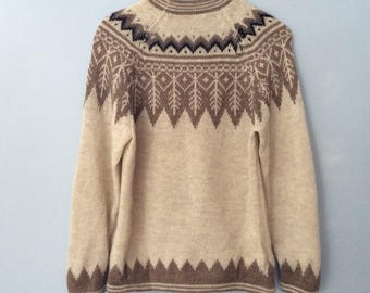 1980s Alpaca Wool Sweater