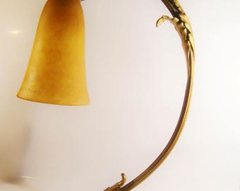 Art Nouveau  Table Lamp Daum Nancy   France