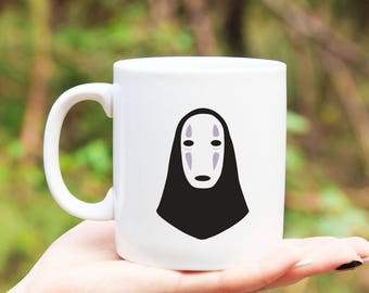 No Face // Kaonashi // No Face Mug // Spirited Away // Spirited Away Mug // Studio Ghibli Mug