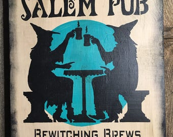 Salem Pub Sign