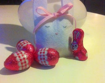 "Chocolate containers ""Little Easter Bunny"""