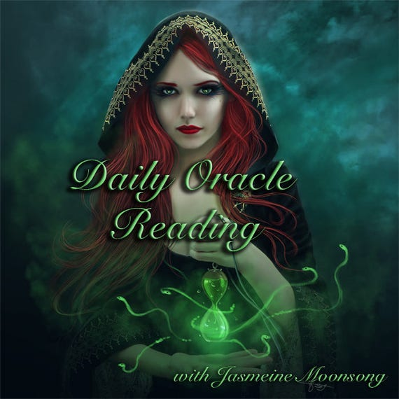 NEW!!! Daily Oracle Readings