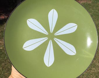 Cathrineholm Lotus Plate Green with White Lotus