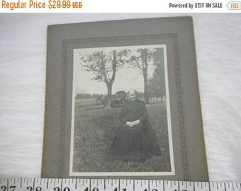 CLEARANCE Vintage Tin Type Photo Of a Grandmother in Late 1800's,1800's,Old Lady Photo,Lovely Lady Photo  {G}