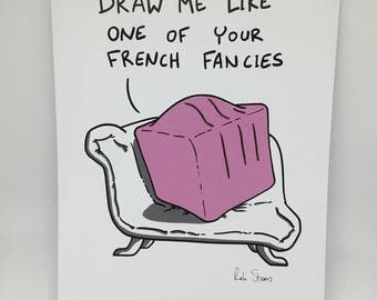 Cake lovers print - French Fancy