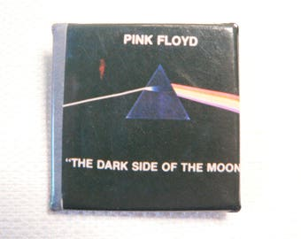 Vintage Late 70s Pink Floyd - Dark Side of the Moon Album Pin / Button / Badge