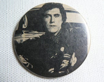 Vintage 70s Bryan Ferry - Roxy Music - Pin / Button / Badge