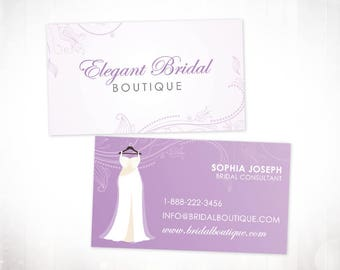 Premade Business Card Design • Bridal Boutique