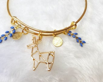 The Chamois Blue Gold Bracelet