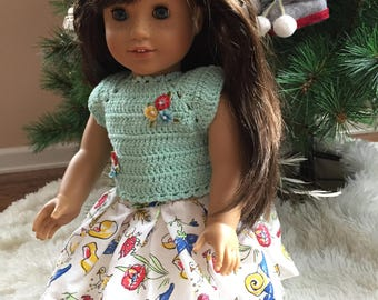 American Doll dresses, 18 inch doll outfit