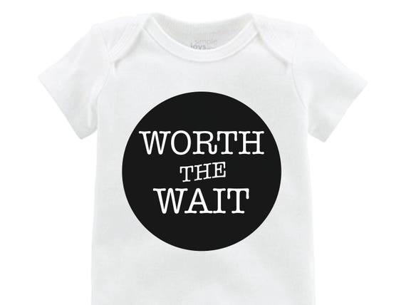 Boy Worth the Wait Onesie Black Worth the Wait Bodysuit Boy Coming Home Onesie Newborn Coming Home Bodysuit Hello World Boy Shirt Boy