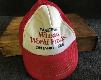 Winston World Finals 1978 Trucker Hat
